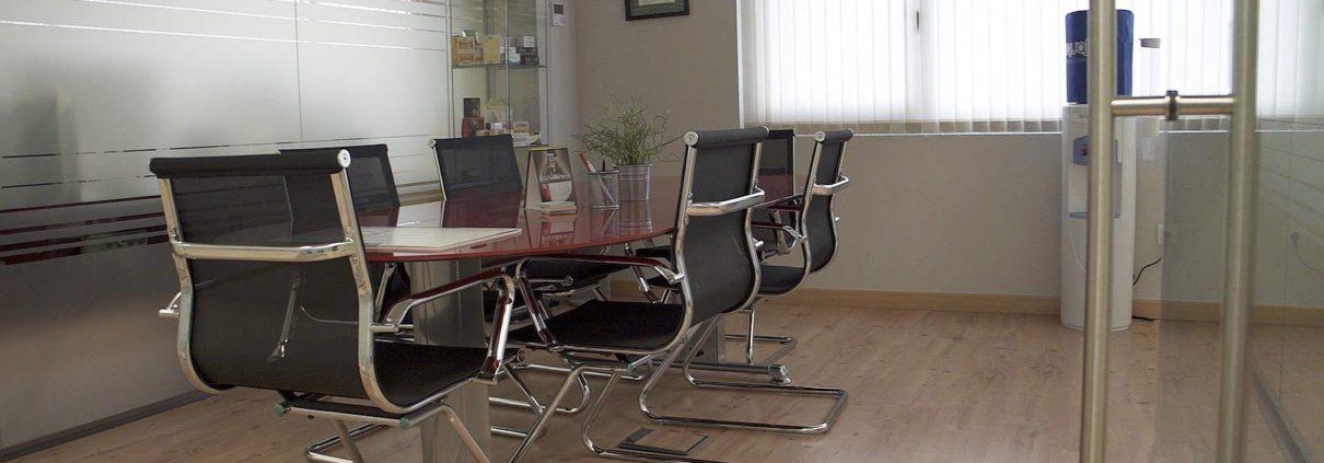 Sala de reuniones en Grafilandia